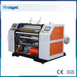 ورق استلام ATM مزدوج المحور طيني ماكينة التحكم الرقمي حرارياً ورق لفة القمامة عالية السرعة rewinder