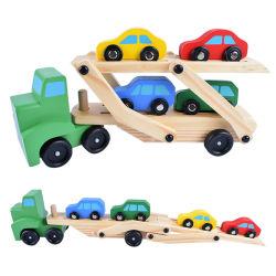 Automobile Double-Deck di legno educativa intelligente del trasportatore di sicurezza dei bambini