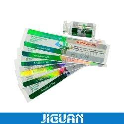 Adesivo per fiale di vetro Oxymetholone Anadrol 50 per uso orale