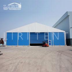 20X80m 알루미늄 PVC 구조 단단한 벽을%s 가진 산업 보관 창고 천막