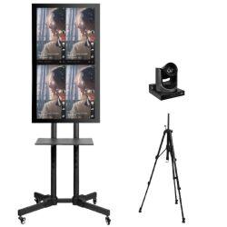 schermo infrarosso in tensione della visualizzazione del telefono mobile del proiettore della strumentazione dello scambista di radiodiffusione dello schermo di 32inch LED video grande