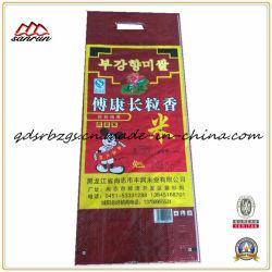 5 kg Hochwertige Kunststoffverpackung PP-Gewebter Reis, Industrie-Stofftasche