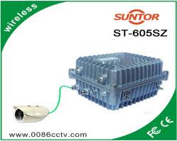 Vídeo inalámbrica de CCTV de emisor y receptor de señal de audio