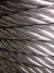 10.0mm 7X19 AISI316 Aço Stailess Strand Cabo de aço e cabos