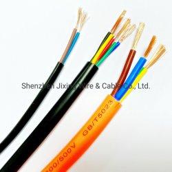 Flexibles PVC-isoliertes Niederspannungs-Kupferleitergehäuse mit RVV Kabel für Kommunikationssystem
