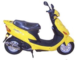 3.50-10 Wheelの49cc 50cc Mini Gas Scooter