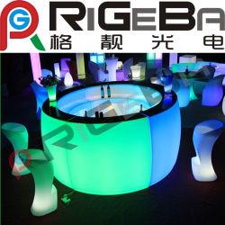 Meubles de LED coloré Bar Président Table stade Compteur de lumière