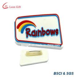 GroßhandelsreversPin weicher Belüftung-Gummiabzeichen-Halter