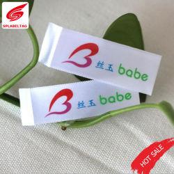 Groothandel Naaien Vrouwen Ondergoed Private Custom Brand Woven Kleding Label Voor Kleding