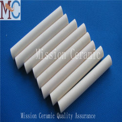 Al2O3 Customied Oxyde d'aluminium de céramique réfractaire Rod