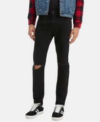 Ripped-Knee masculina Skinny Jeans Jeans masculina Jeans masculina Jeans Algodão2020