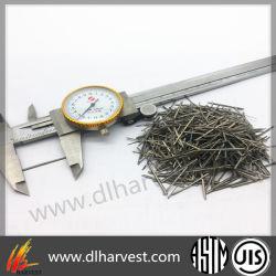 Стальные волокна для армированного бетона и огнеупорные материалы материалы