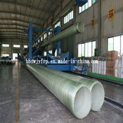 Tubo de plástico reforzado con fibra compuesta de fibra de vidrio el tubo de presión