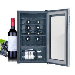 Мини-сенсорный экран двери термоэлектрических холодильник для вина охладитель для дома