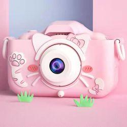 어린이 장난감 아이들을 위한 고급의 유행을 선도하는 크리스마스 선물 SD 카드 20m 픽셀이 있는 카메라
