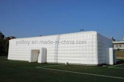 Publicidade exterior almofada insuflável de casamento de retângulo Tenda para eventos de terceiros