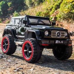 Jeep scherzt elektrisches Auto mit Doppelsitz-Kind-elektrischer Fahrt auf Spielzeug-Auto mit Batterieleistung Kc-03