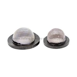 Из нержавеющей стали 304 U-образный сетчатый фильтр под струей горячей воды в ванной комнате есть душ шланга сетчатый фильтр резиновое кольцо