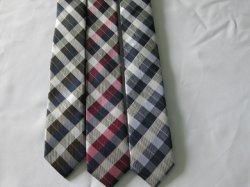 Contrôle de la mode pour hommes design cravate en soie tissée