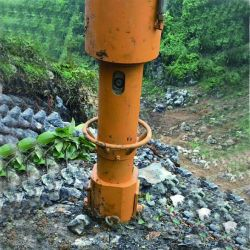 Divisore idraulico della roccia per la pietra
