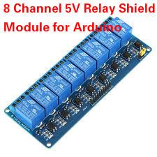 8 canal module de relais 5V Shield pour Arduino