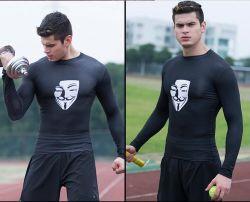 Desgaste Fitness confortáveis para homens com material de lycra