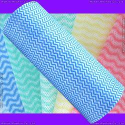 Tous les Ipurpose Spunlace nettoyer le rouleau de tissu non tissé pour l'entretien ménager
