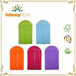 40 * 24-дюймовый красочными тканями Non-Woven молнией костюм крышку подушки безопасности одежды Одежда сумки