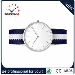 Het klassieke Nylon Horloge van de Mensen van het Polshorloge van de Riem (gelijkstroom-458)