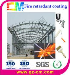 Feuerfeste Schicht Hohes-Build Building Intumescent Wasser-gründete Powder Fireproof Painting für Steel
