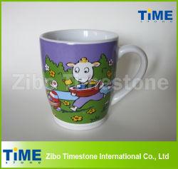 Café, té de cerámica taza de leche con chocolate