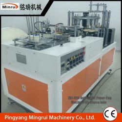 máquina de fabrico de copos de papel automático do revestimento da Luva de parede dupla chávenas