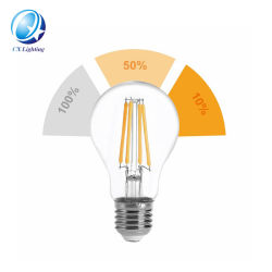 Paso 3 filamentos de atenuación de la bombilla LED A60 G45 C35 5W Borrar