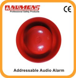 Inteligente! Detecção de fogo Alarme de incêndio Alarme audio / visual endereçável (640-002)
