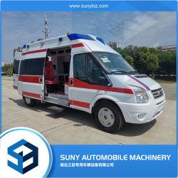 긴급 차량 ICU 운송 의료 구급차(전체 액세서리 포함