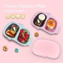 عادة أطفال جديات آمنة تخزين طفلة بلاستيكيّة يغذّي [سنك فوود] قصع ملعقة غطاء يثبت لا سدادة لأنّ طفلة