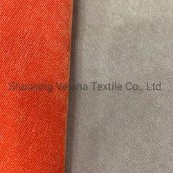 직물 직물 100%Polyester 코듀로이 소파 직물을%s 평야에 의하여 염색된 가구 직물 실내 장식품 직물 장식적인 직물은 빠른 선적을%s 상품을 준비한다