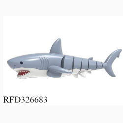 2.4G水のリモート・コントロール鮫のおもちゃRCの魚のボートの水泳