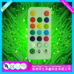 En relief type étanche interrupteur à membrane de clavier à membrane du clavier tactile capacitif