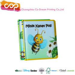 La impresión laminado Mate Colorear Libro de la Junta de estampado de lámina del libro infantil