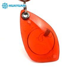 Plastica trasparente 13.56MHz MIFARE 1K classico RFID Keychain di colore di stampa su ordinazione di MARCHIO