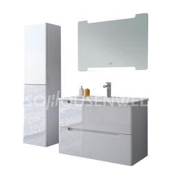 Modernes Badezimmer Vainity keramisches Wannen-Bassin-Badezimmer-Schrank-Set