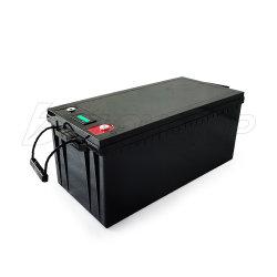 리튬 24V 100ah LiFePO4 깊은 주기 바다 Trolling 모터 건전지