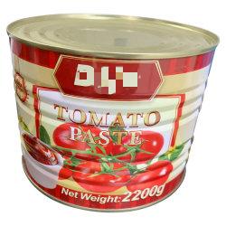 Lange houdtijd 2,2 kg tomatensaus in blik voor commercieel gebruik