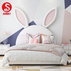 현대적인 유아용 침실 가구 솔리드 우드 크레이들 키즈 싱글 침대 (SN-Y049A)