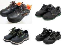耐スキッド耐 SMASH 安全性耐穿刺オイルおよびアルカリ防水スチールヘッド 絶縁保護静電気防止用の純正産業用鉱業用化学靴
