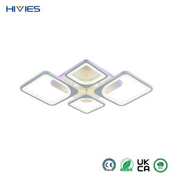 هيفيس تشاينا أفضل سعر غرفة معيشة معاصرة غرفة نوم إضاءة داخلية الديكور مصباح سقف LED حديث مستدير