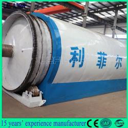 China desechos de neumáticos/plástico/caucho planta de pirólisis para el carbono del aceite Acero de alambre negro Les-2666