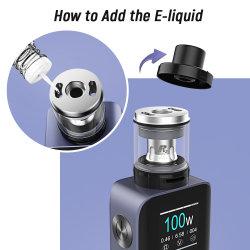 El nuevo E-cigarrillo rellenable con E-Liquid Vola Bar2000mAh Venta caliente Promoción y precio asequible Vape