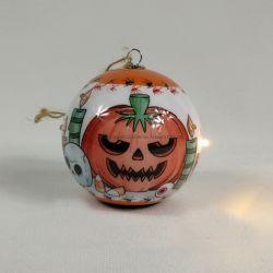 Ornamenti di plastica personalizzati della sfera della decorazione variopinta di natale per le feste